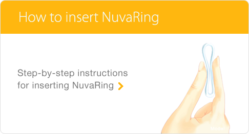 How to insert NuvaRing