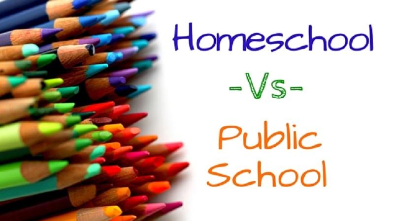 Homeschooling vs. Public Schooling